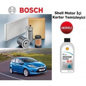 FİESTA 1.4 TDCİ(07.2008-11.2012) BOSCH 3LÜ FİLTRE SETİ