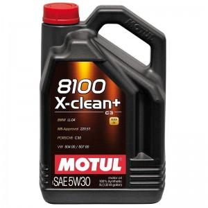 MOTUL 8100 X-CLEAN+ 5W30 5 LİTRE