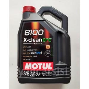 MOTUL 8100 X-CLEAN EFE 5W30 4 LİTRE