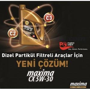 PETROL OFİSİ MAXİMA CX 5W30 4 L C2/C3 DPF ONAYLI