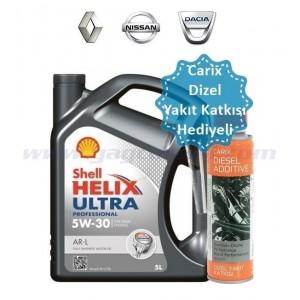 SHELL HELİX ULTRA PRO AR-L 5W30 5 LİTRE(HEDİYELİ)