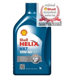 SHELL HELİX HX7 10W40 - 1 LİTRE